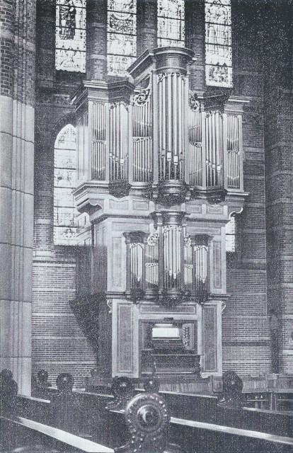 Het orgel van de Vituskerk