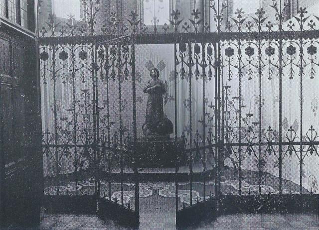 Het Vitusbeeld in de oude doopkapel