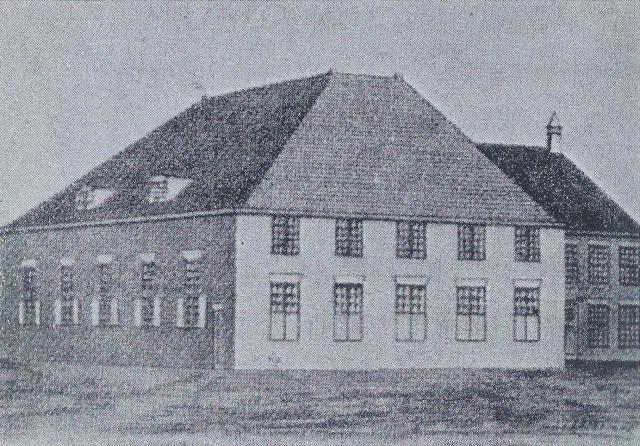 De Vituskerk die op 4 juli 1786 plechtig werd ingewijd